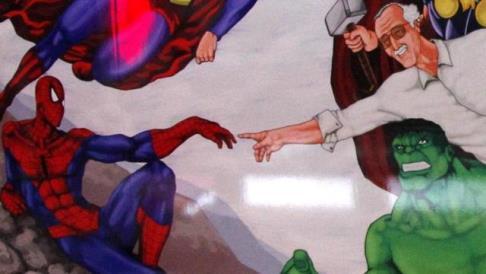 La Cappella Sistina dei supereroi a Madrid.jpg