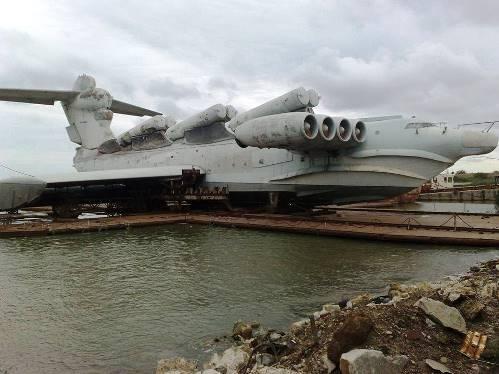 MD-160, Soviet Navy Lun-class ekranoplan.jpg