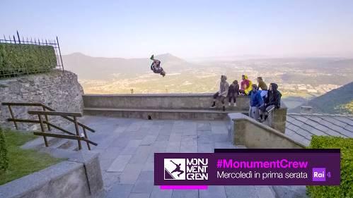 Monument Crew su RAI4.jpg
