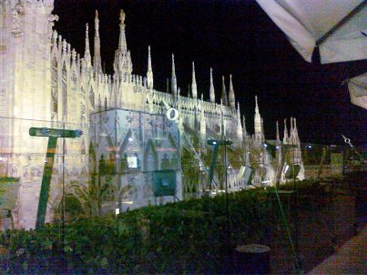 WE:LOVE:MERCURI: Cena a Milano sulla terrazza panoramica della ...